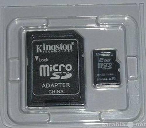 Продам Карта памяти microSD и SD