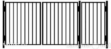 Продам Ворота и калитки металлические садовые