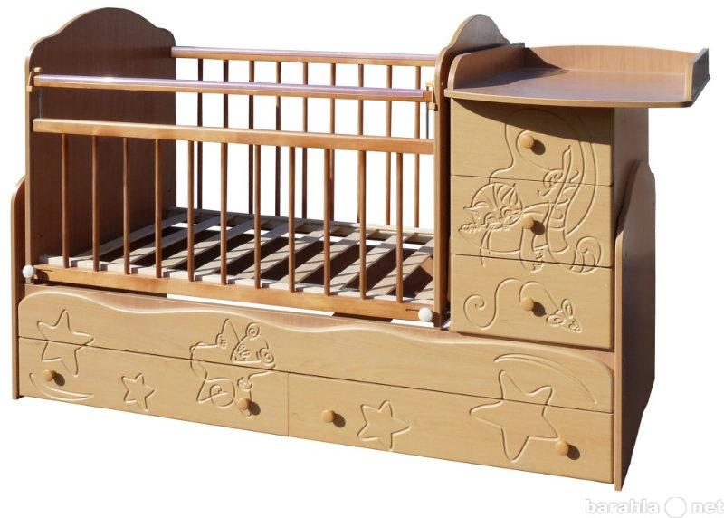 Продам: детскую кроватку №3