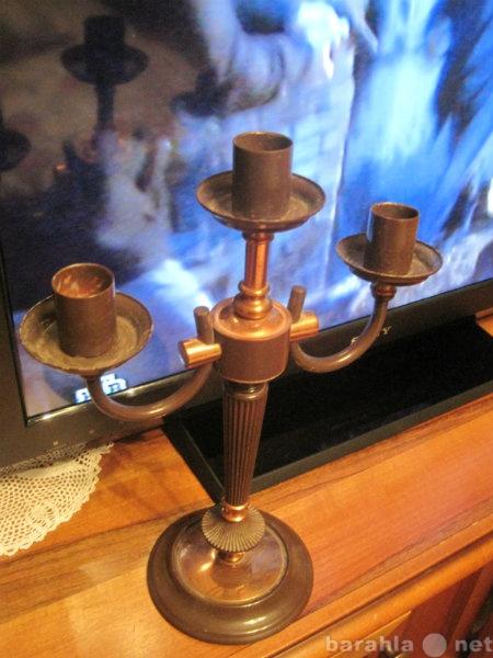 Продам: Изящный ретро подсвечник на три свечи