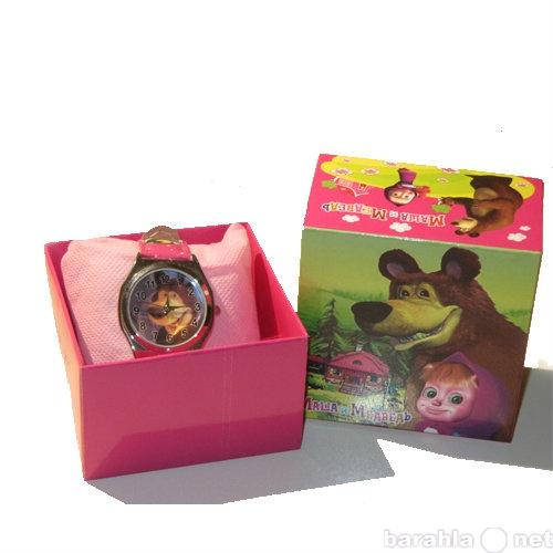 Продам часы наручные Маша и медведь в подарочно