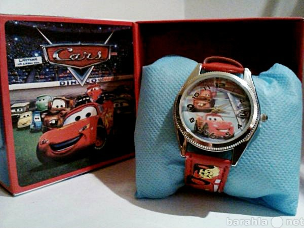 Продам Детские наручные часы Тачки