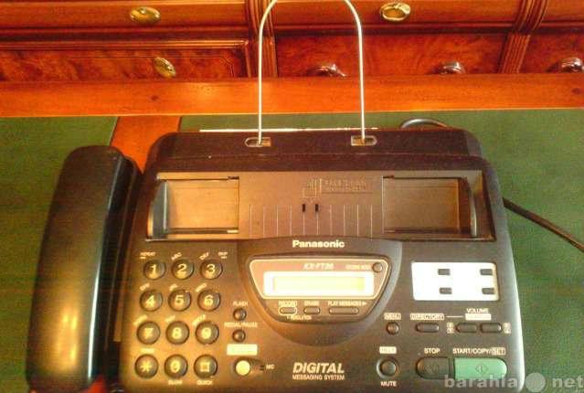 Продам: Телефон-факс KX-FT26 Панасоник