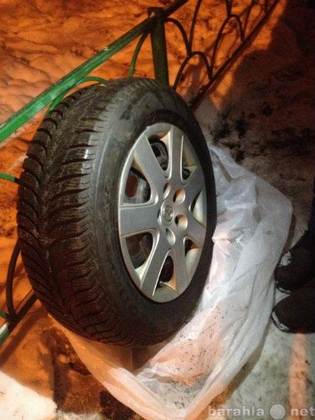 Продам колёса зимние