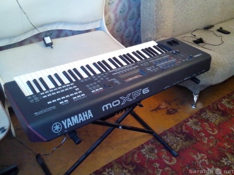 Продам yamaha moxf6 с фирменным чехлом