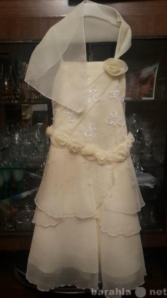 Продам Платье праздничное, рост 128-140