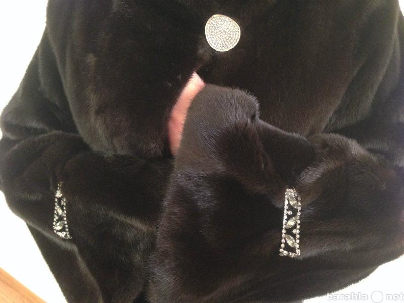 Продам Итальянская норковая шуба Black Nafa