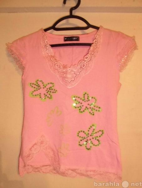 Продам футболка женская, розовая