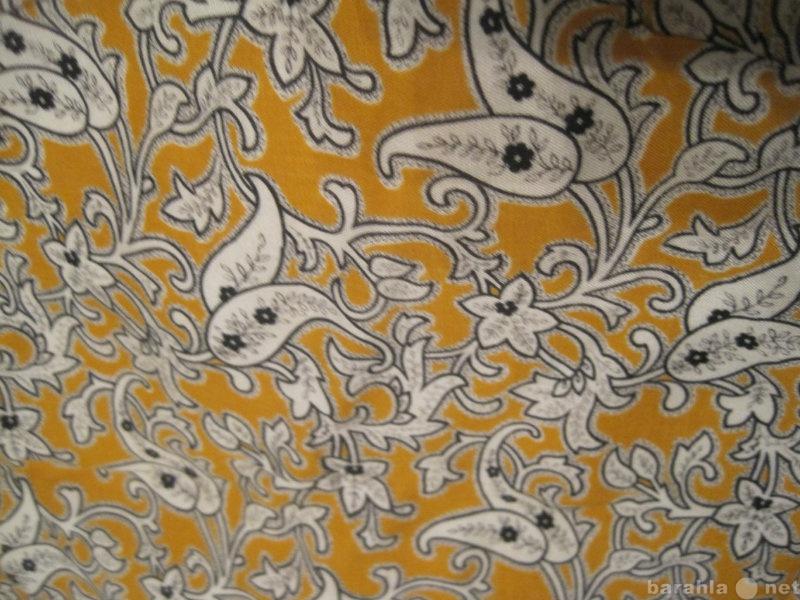 Продам Отрез мягкой плотной ткани с рисунком