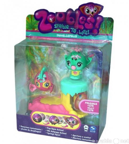 Продам: Zoobles две фигурки с домиком