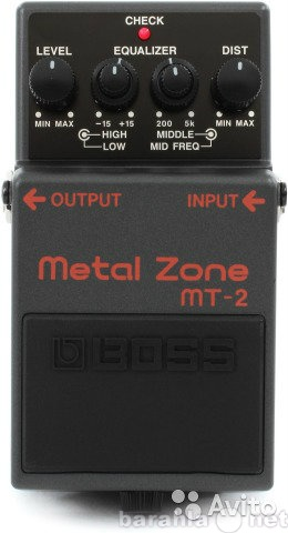 Продам BOSS Metal Zone mt-2