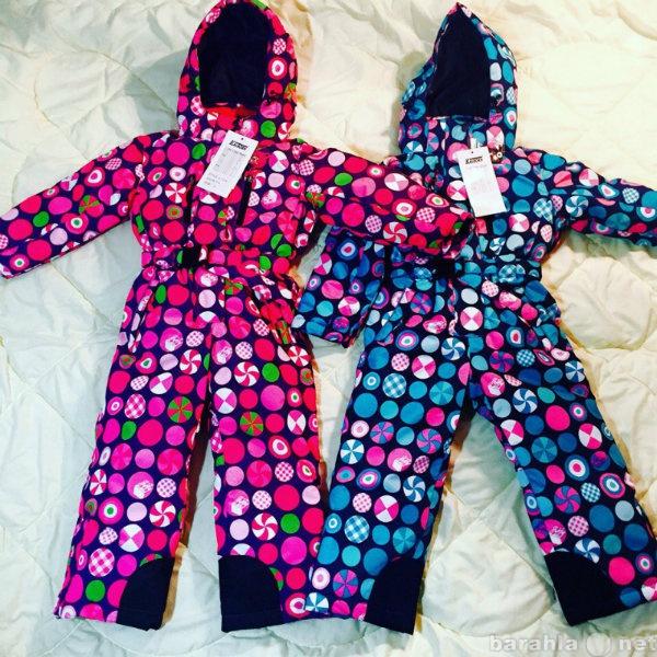 Продам Новые зимние комбинезоны для девочек