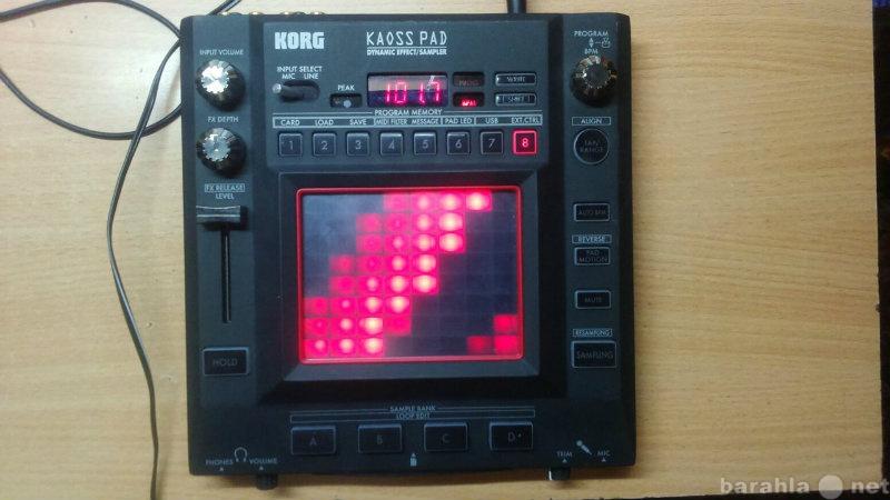 Продам Korg kaoss pad 3
