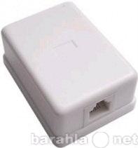 Продам: Розетка телефонная 1 порт RJ11 6P4C WT-6