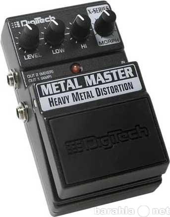 Продам Гитарный эффект DIGITECH XMM METAL MASTE