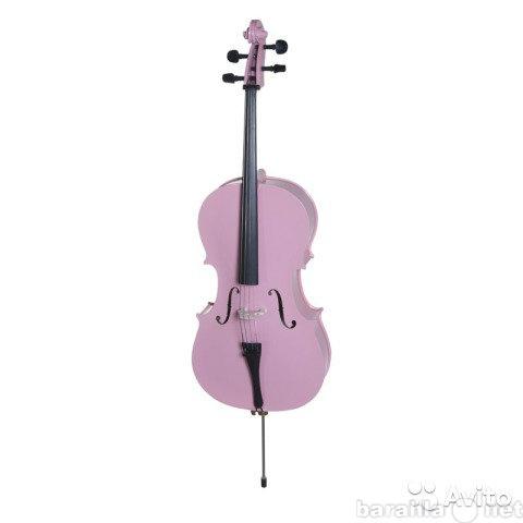 Продам потрясающе красивая розовая виолончель