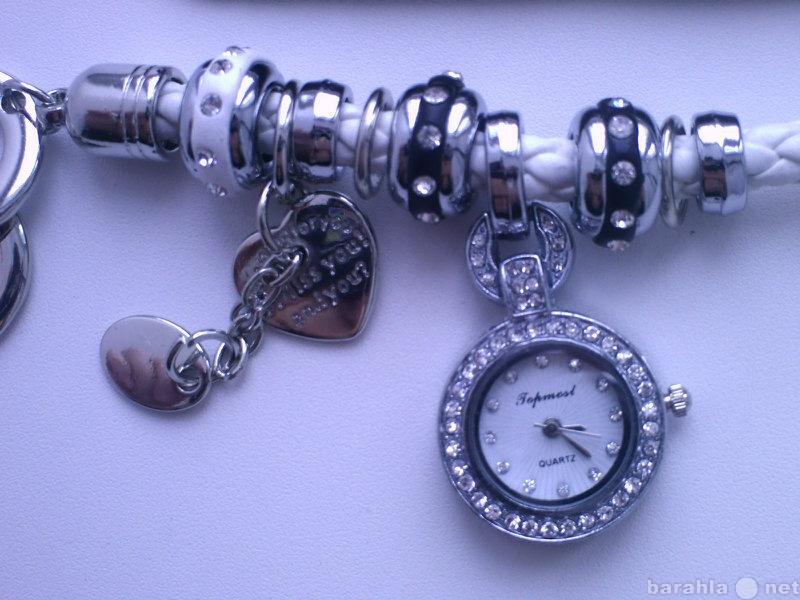 Продам Часы-браслет Пандора белые и чёрные