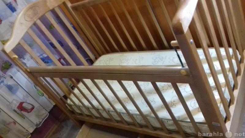 Продам детская кровать с матрацом