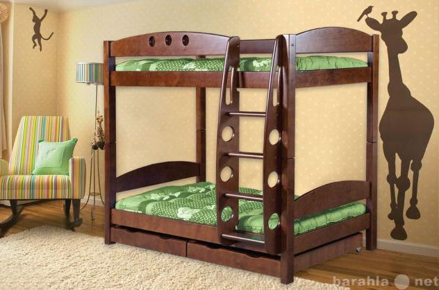 Продам Кровать двухъярусная из натурального дер