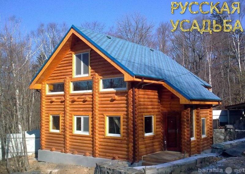 Продам Срубы из бревна, деревянные дома, бани