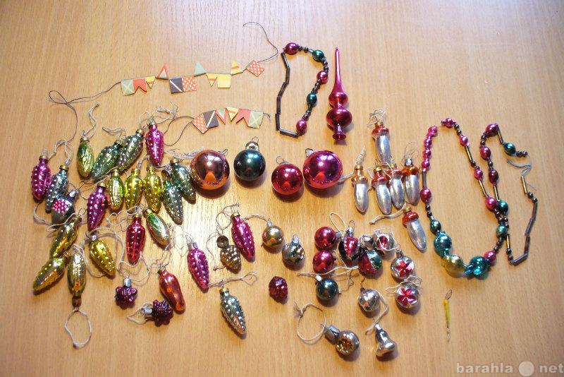 Продам елочные игрушки для ёлки-малютка СССР
