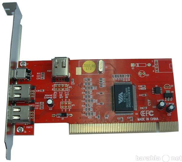 Продам: FireWire контроллер PCI
