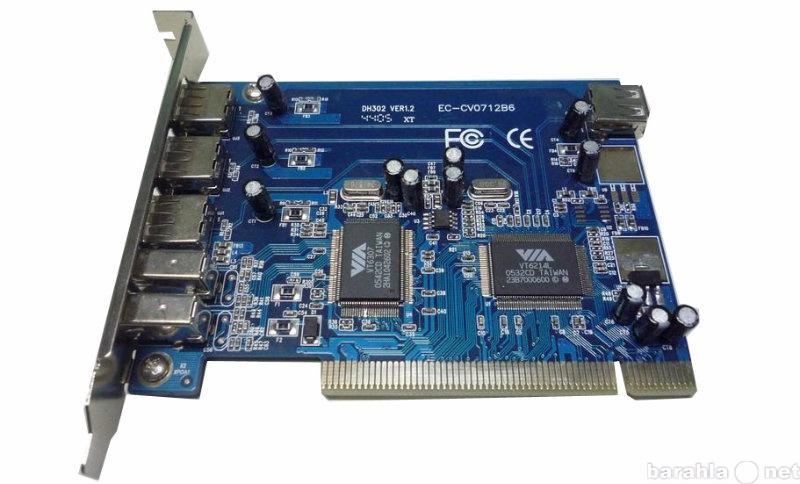 Продам PCI контроллер USB + FireWire