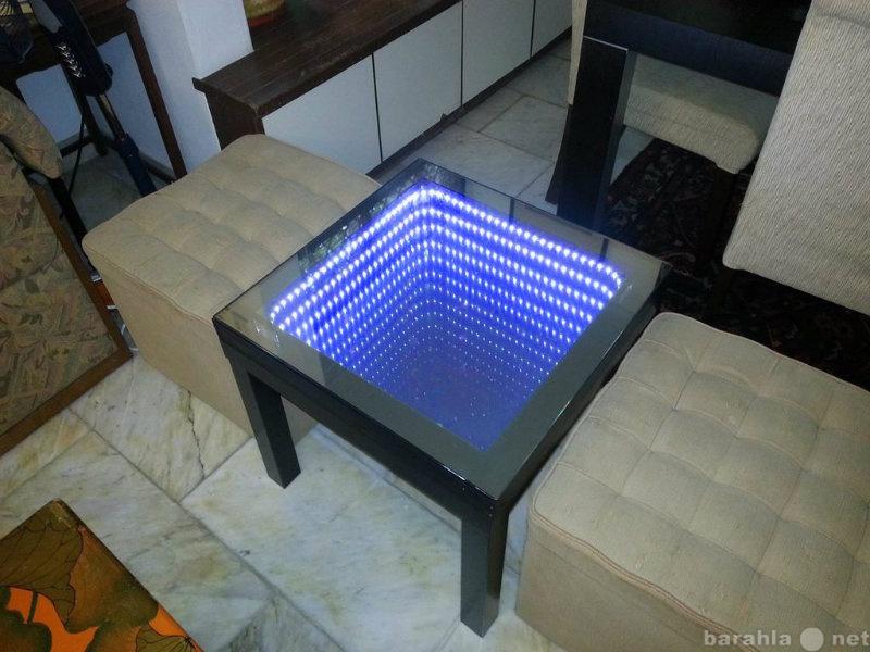 Продам LED Стол (Диодный стол с эффектом бескон