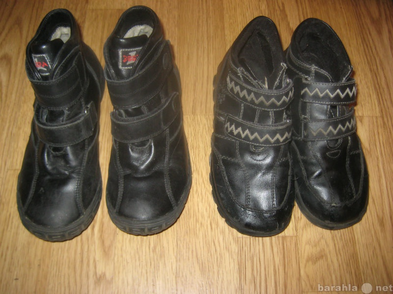 Продам ботинки весна-осень р.34 и р.37