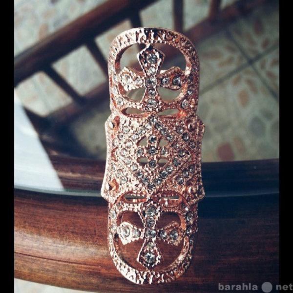 Продам Длинное сгибаемое кольцо Ruby Gold К4