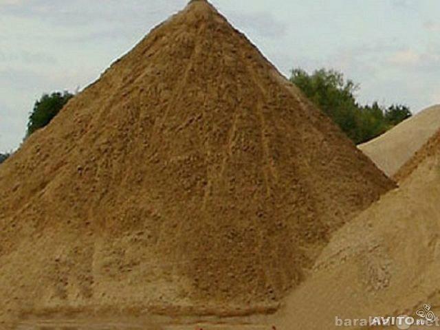 Продаю строительный песок в Ижевск обесшумка строительная компания