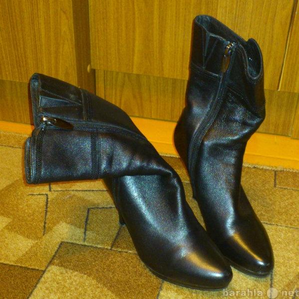 Продам Новые натуральная кожаные сапоги