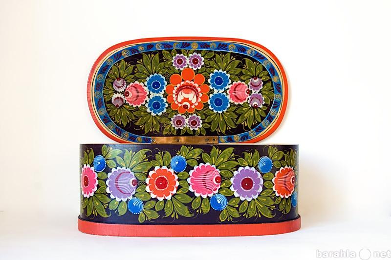 Продам Шкатулка-короб хохлома