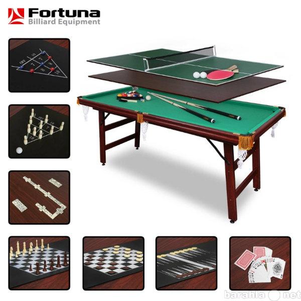 Продам Бильярдный стол FORTUNA пул 6фт 9 в 1 с