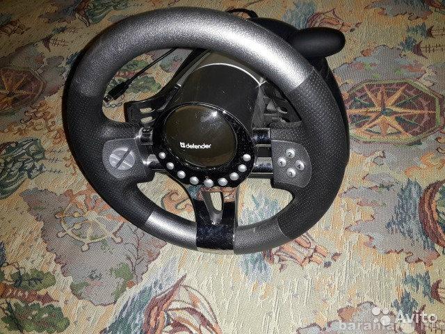 Продам Игровой руль defender forsage GTR