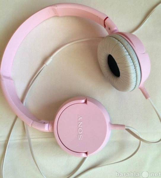 Продам: Наушники SONY, цвет розовый