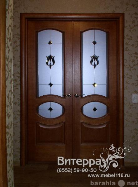 Продам Двери с оформлением витражами
