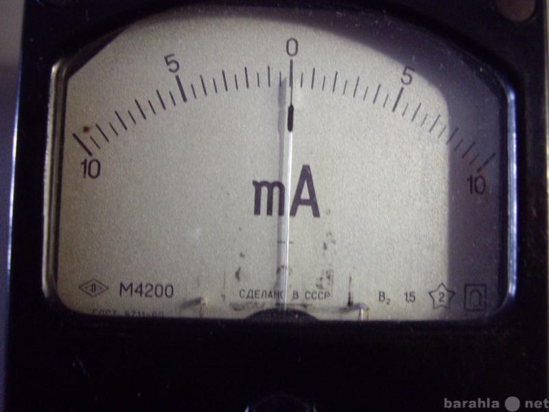 Продам: Головка М4200  ( 10-0-10mA)