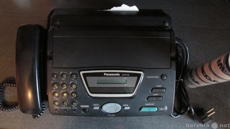 Продам Факс Panasonic KX-FT72