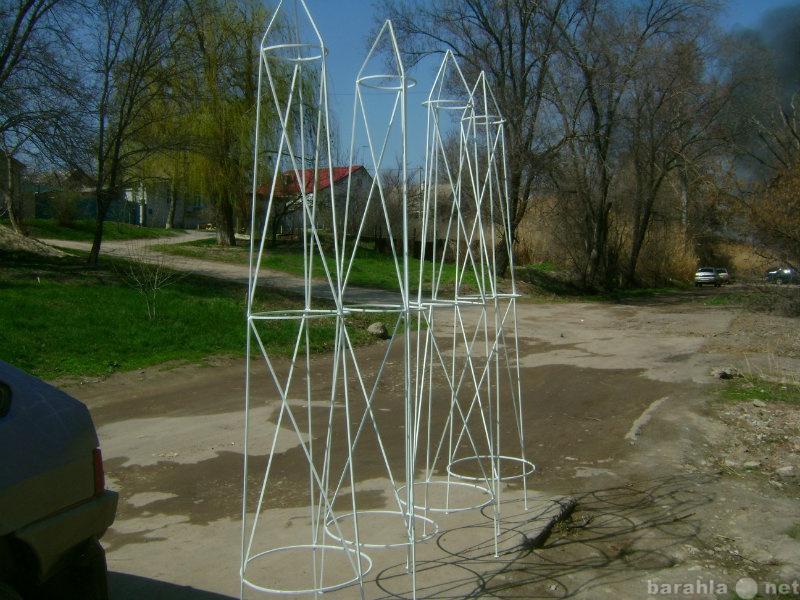 Продам: Стойка металлическая для плетущихся раст