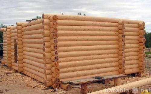 Продам: Изготовление любых срубов домов, бань