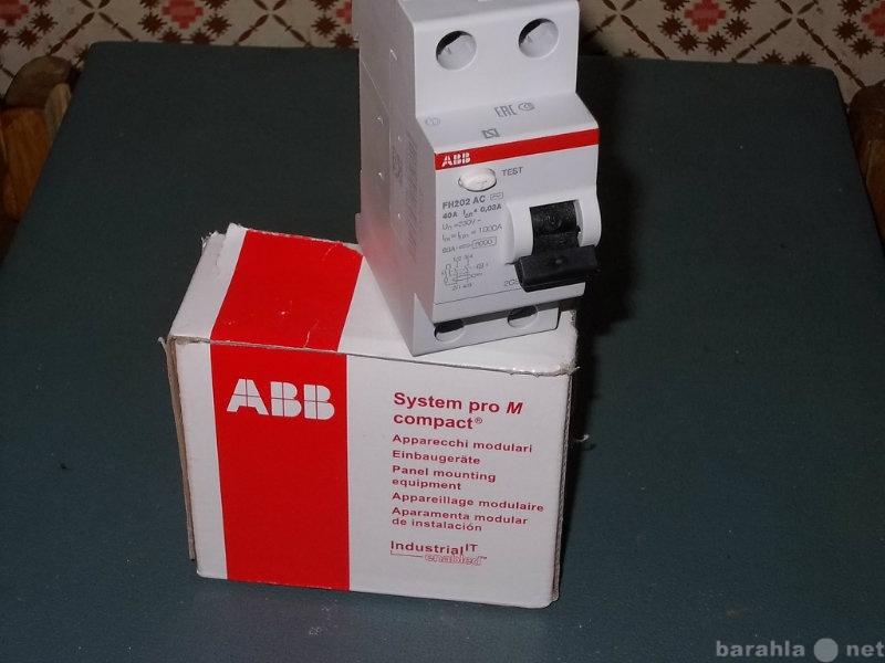 Продам Выключатель дифф. тока(УЗО) FH202 AC