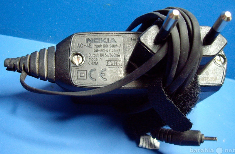 Продам: Зарядное устройство Nokia AC-4E тонкий ш