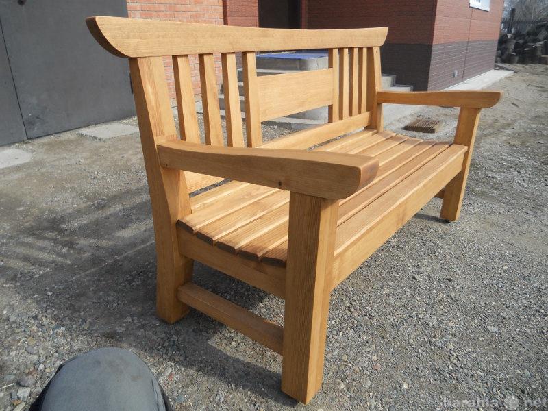 Продам скамейка с подлокотниками