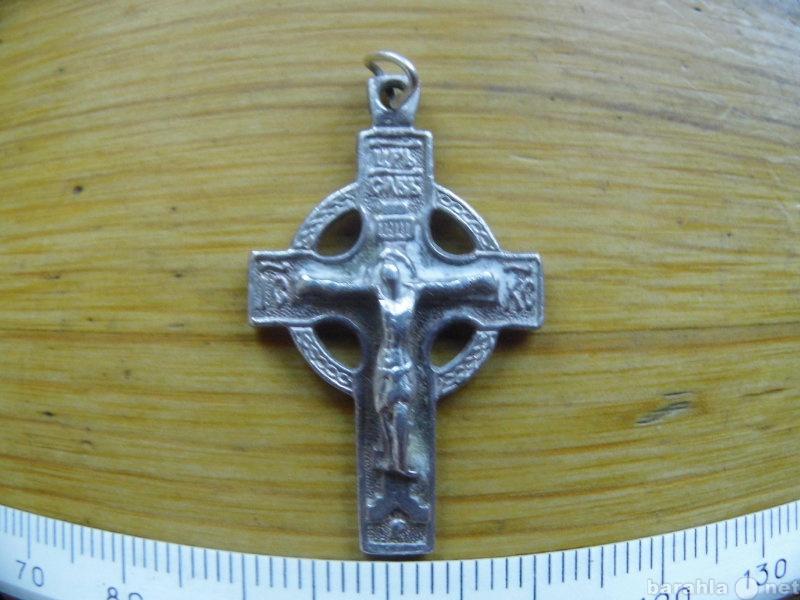 Продам Изящный серебряный крестик