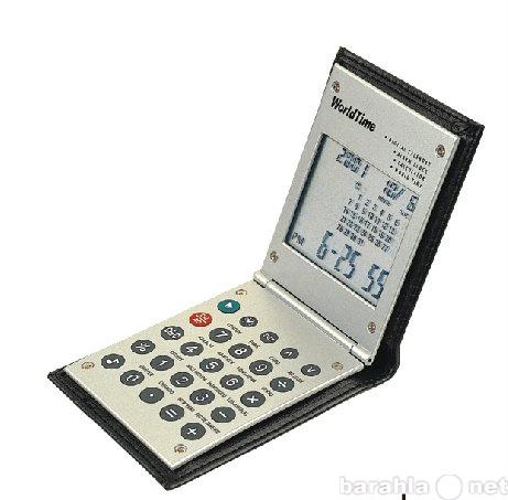 Продам Калькулятор-часы World Time-стол-карман