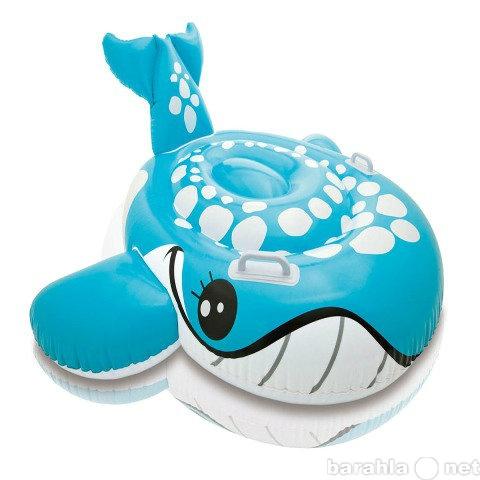 Продам Надувная каталка кит голубой с ручками