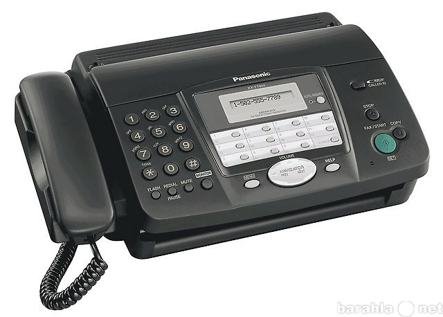 Продам Факс Panasoniс KX-FT902 UA-B (черный)