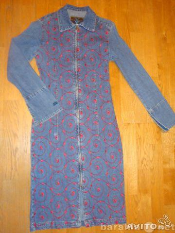 Продам: Джинсовое платье р-40 практич. нов