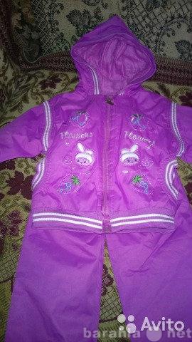 Продам Утеплённый спортивный костюм 86-92,